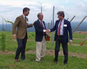 Francesco Mazzei, Gabriele Rause, and Filippo Mazzei