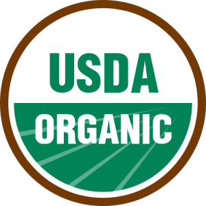 Photo from http://commons.wikimedia.org/wiki/File:USDA_organic_seal.svg (Public Domain)