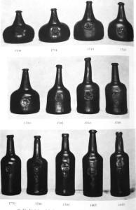 Dating old champagne bottles