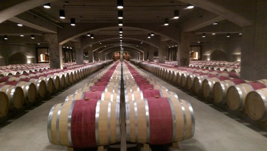 Barrel room at Robert Mondavi Winery. Photo copright RYeamansIrwin2015